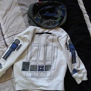 Star Wars Jackets & Coats - Star Wars R2D2 18-24 Mos Hoodie